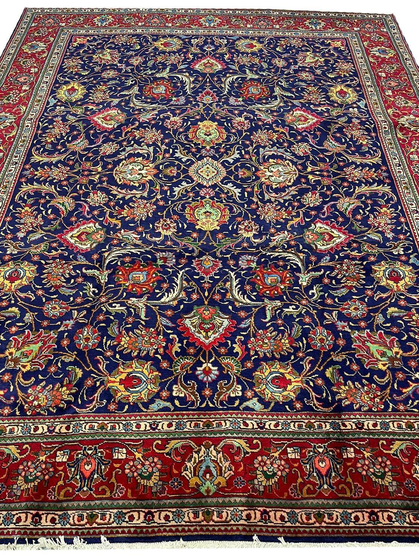 FINE PERSIAN SAFAVID SHAH ABBAS DESIGN TABRIZ CARPET, 380cm x 300cm.