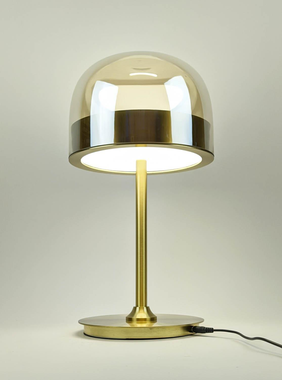 TABLE LAMP, 1950's Italian style, 45cm H.