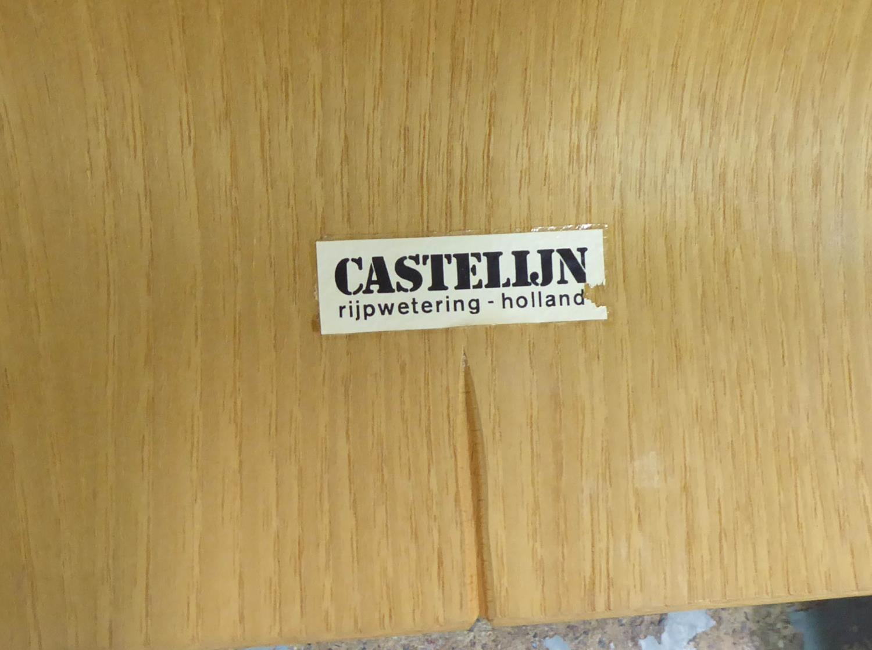 CASTELIJN RUPWETERING STRIP CHAIRS, a set of six, by Gijs Bakker, 77cm H. (6) - Image 4 of 4