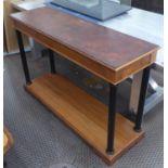MANNER OF CLIVE CHRISTIEN CONSOLE TABLE, 140cm x 45cm x 90.5cm.
