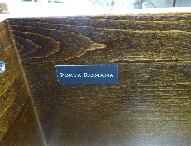 PORTA ROMANA CONKER SIDE CHESTS, a near pair, 45cm x 46cm x 57cm. - Image 4 of 7