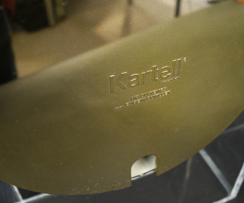KARTELL AIR DU TEMPS CLOCK BY EUGENI QUITLLET, 29.5cm H. - Image 3 of 4