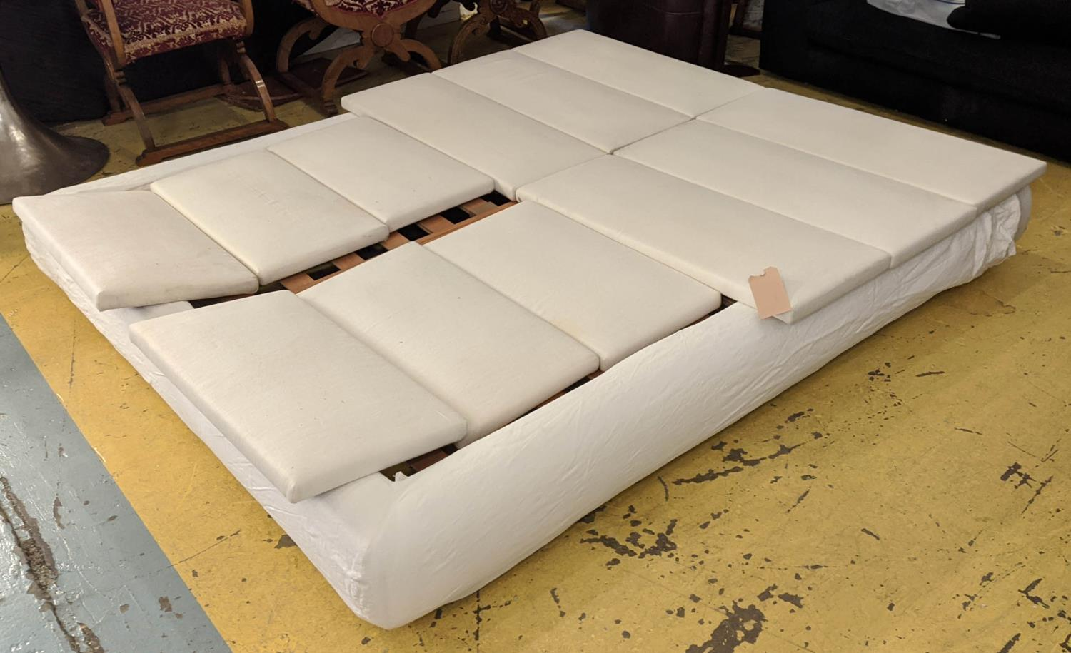POLIFORM DREAM BED BY MARCEL WANDERS. (with faults), 183cm W. - Image 2 of 6