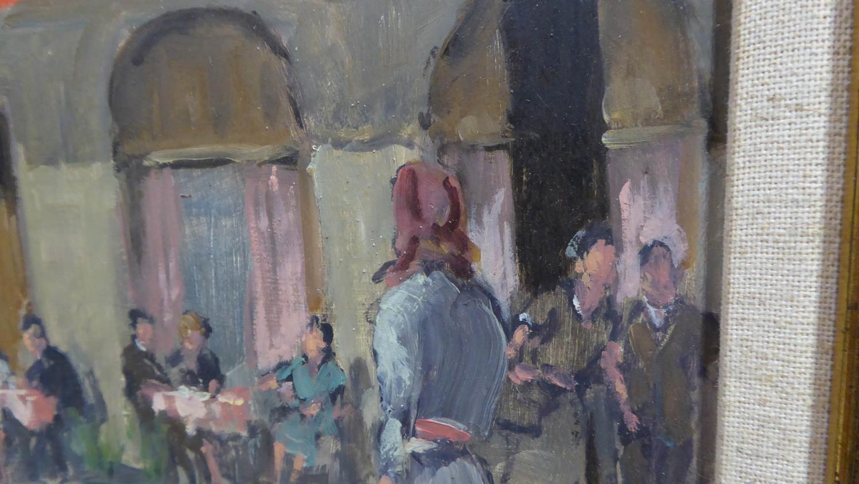 ARTHUR VICTOR COVERLEY-PRICE - MA FRGS (1901-1988) 'Place Du Teatre, Montmartre, Paris, with Cadet - Image 2 of 4