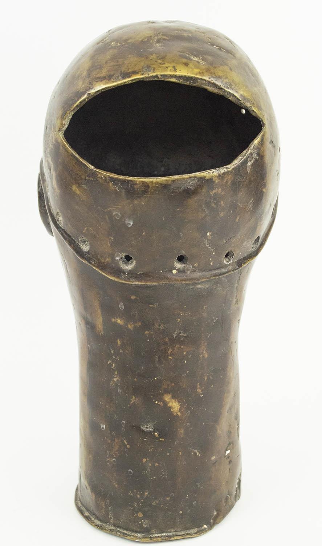 BENIN IFE BRONZE HEAD, 35cm H. - Image 3 of 4