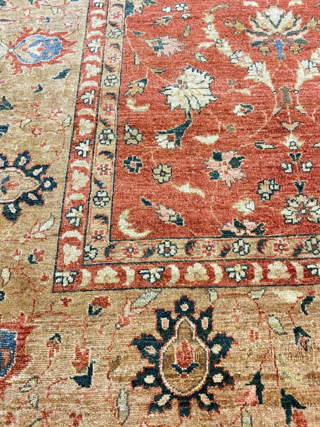 FINE BAKSHAISH DESIGN CARPET, 371cm x 273cm. - Image 5 of 5