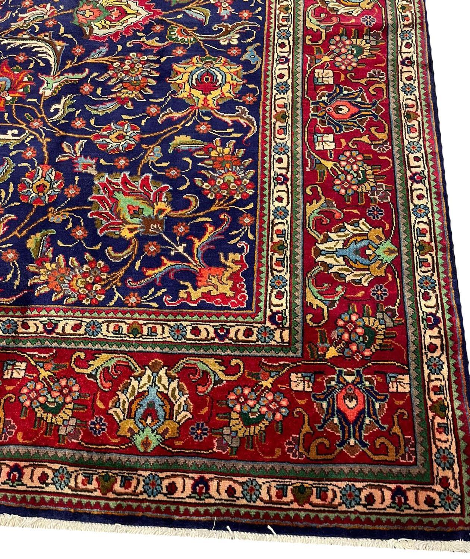 FINE PERSIAN SAFAVID SHAH ABBAS DESIGN TABRIZ CARPET, 380cm x 300cm. - Image 3 of 5