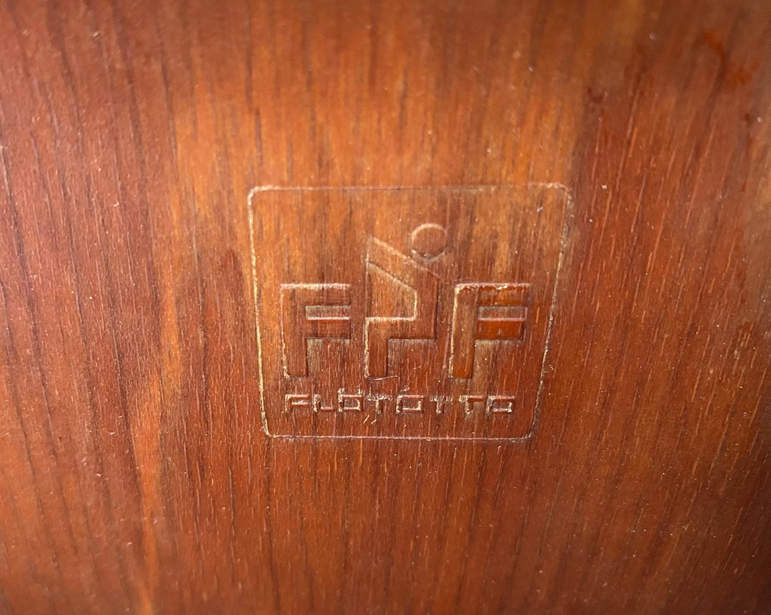 FLOTOTTO PAGHOLZ DINING CHAIRS, a set of five, by Elmar Flototto, 78cm H. (5) - Image 3 of 9