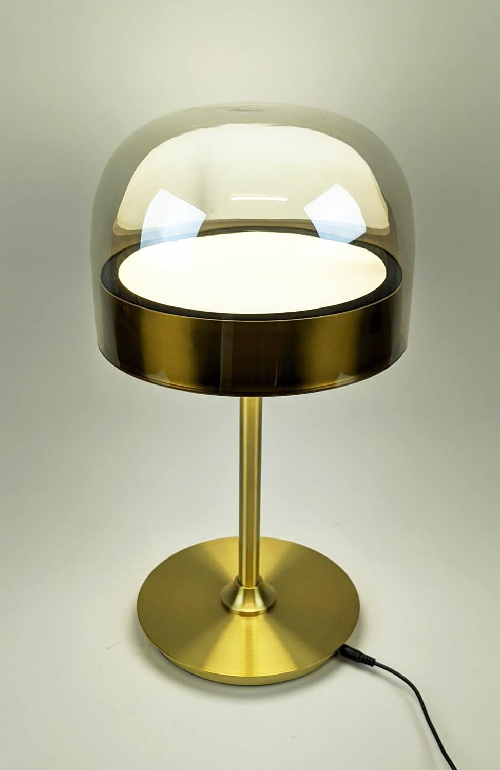 TABLE LAMP, 1950's Italian style, 45cm H. - Image 2 of 4