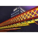 ANDREW TURNBULL MA RCA 'Water Arch', ultrachrome giclee print in colours on aluminium, 150cm x