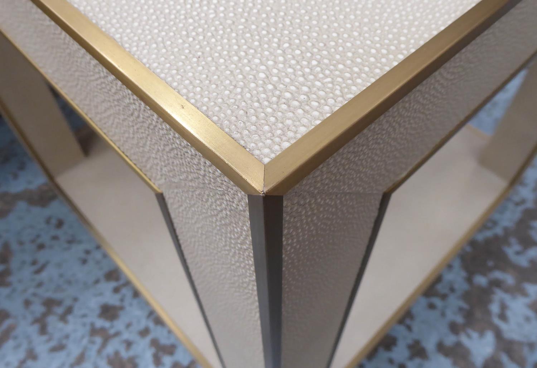 RESTORATION HARDWARE CELA SIDE TABLE BY CHARLIE ZAGAROLI, 56cm x 56cm x 57cm. - Image 2 of 4