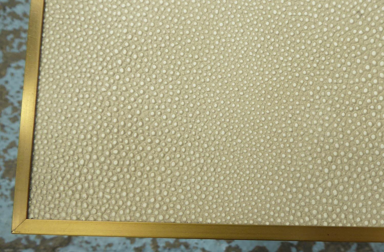 RESTORATION HARDWARE CELA SIDE TABLE BY CHARLIE ZAGAROLI, 56cm x 56cm x 57cm. - Image 4 of 4