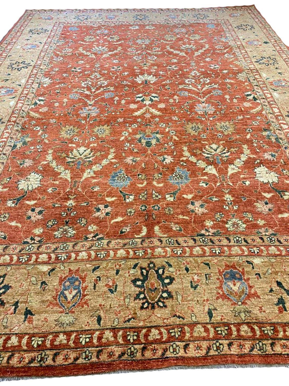 FINE BAKSHAISH DESIGN CARPET, 371cm x 273cm.