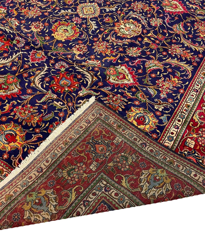 FINE PERSIAN SAFAVID SHAH ABBAS DESIGN TABRIZ CARPET, 380cm x 300cm. - Image 5 of 5
