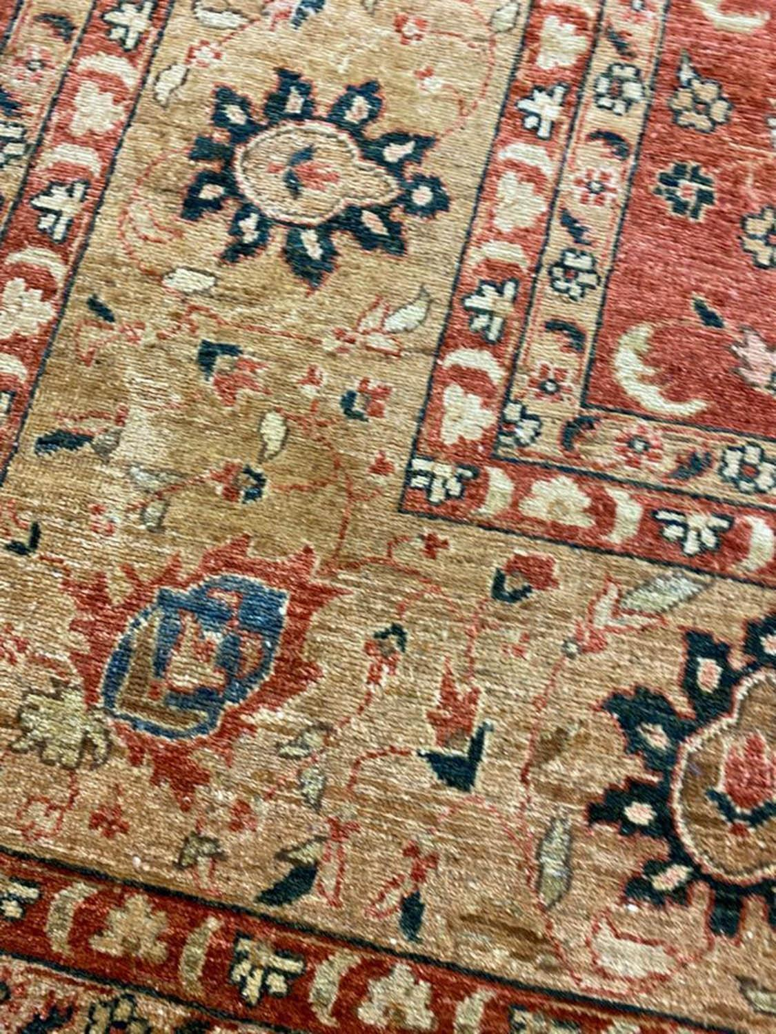 FINE BAKSHAISH DESIGN CARPET, 371cm x 273cm. - Image 4 of 5