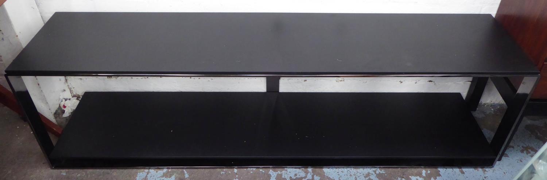 MINOTTI WILLIAMS CONSOLE TABLE BY RODOLFO DORDONI, 178cm x 39cm x 50cm.