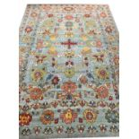 FINE CONTEMPORARY OUSHAK CARPET, 410cm x 292cm.