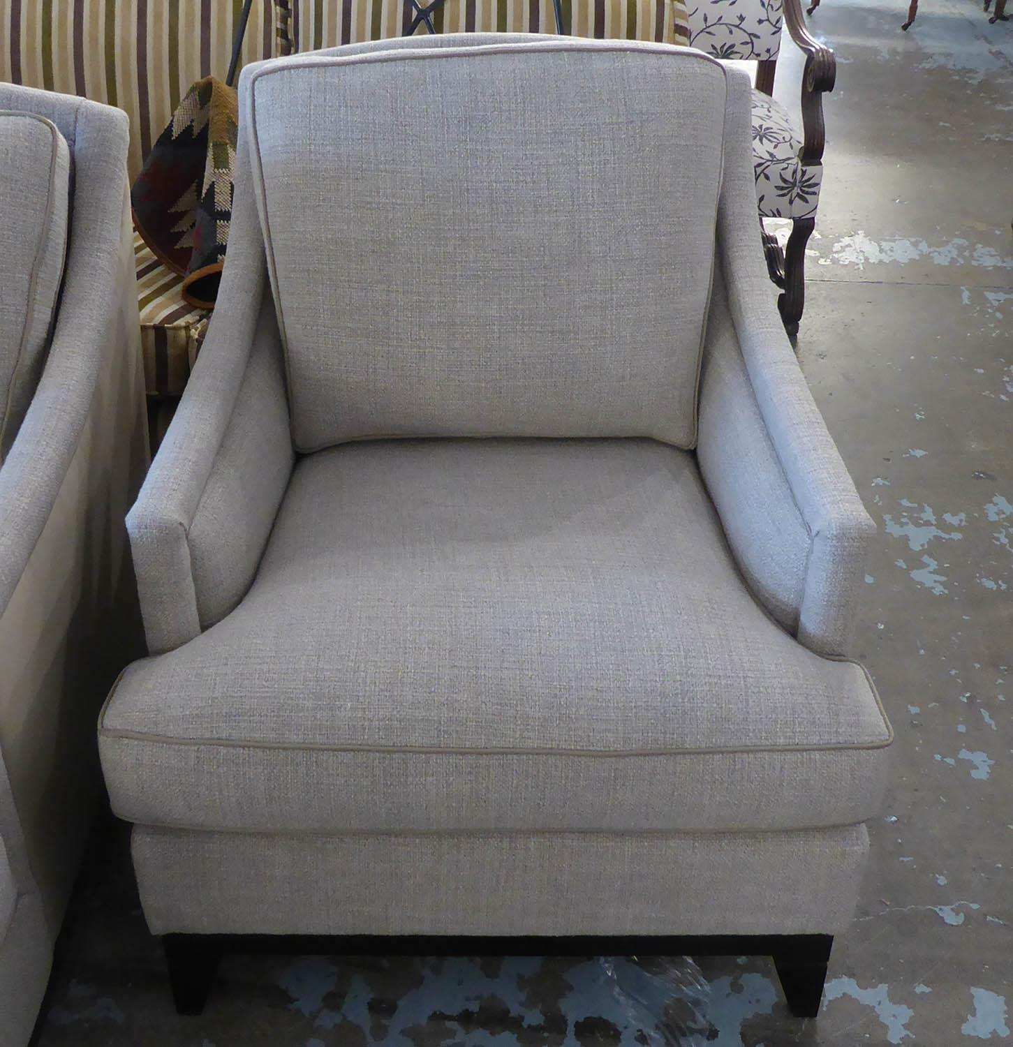 BESPOKE SOFA LONDON ARMCHAIRS, a pair, 76cm approx. (2) - Image 2 of 4