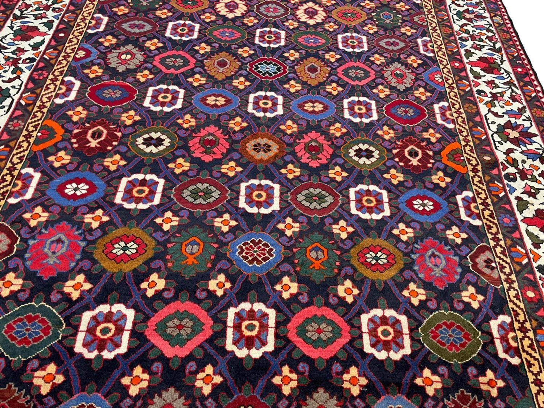 FINE PERSIAN BAKTIAR CARPET, 325cm x 225cm, stylised mina khani design. - Image 2 of 4