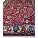 FINE PERSIAN SAFAVID DESIGN CARPET, 400cm x 300cm.