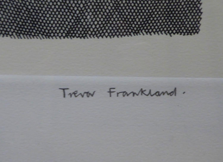 TREVOR FRANKLAND (British 1931-2011) engraving, signed and numbered 26/75, 65cm x 90cm x framed - Image 2 of 3