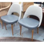 AFTER EERO SAARINEN EXECUTIVE STYLE CHAIRS, a set of six, each 57cm x 82cm H. (6)