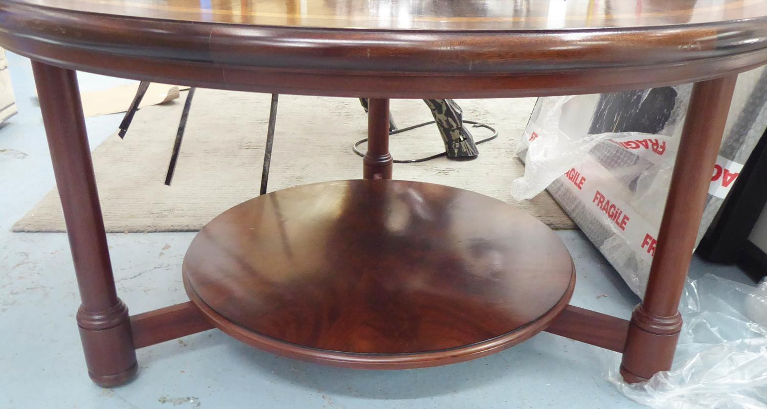 MANNER OF CLIVE CHRISTIEN LOW TABLE, 89cm diam x 45cm H. - Image 2 of 6