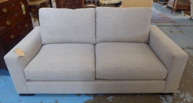 SOFA, contemporary design, grey fabric finish, 178cm W.