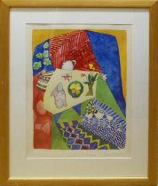 SYLVIA EDWARDS (Contemporary British) 'Can Spring be Far Away', signed, limited edition silkscreen
