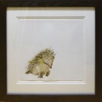 CATHERINE RAYNER (Contemporary British) 'Hedgehog', signed, limited edition, hand coloured prints,