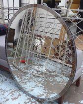 ASTLEY WALL MIRROR, circular, 100cm Diam.