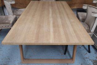 FRITZ HANSEN ESSAY DINING TABLE BE CECILE MANZ, 100cm W x 225cm L x 71cm.