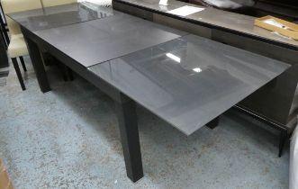 LIGNE ROSET EURIKA DINING TABLE, extendable, 258cm x 90cm x 74cm.