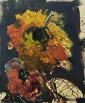 MARTIN KINNEAR (b.1969) 'Study XXVI', oil on canvas, monogrammed, label verso, 40cm x 30cm, framed.