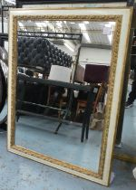 MIRRORS, two, of differing sizes and designs, 125.5cm x 95cm at largest. (2)