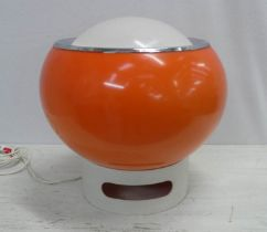HARVEY GUZZINI 'BUD' LAMP, vintage 1970's Italian, 35cm H.