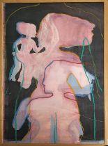 ELAINE KOWALSKY (Canada 1948-2005) 'My Grandmother, my Mother, my Self', monoprint, 110cm x 75cm,