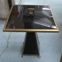 JONATHAN ADLER CONSTANTINE TABLE, 55cm H x 41cm x 41cm.
