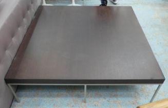 B&B ITALIA WITH MAXALTO APTA TABLE BY ANTONIO CITTERIO, 125cm x 125cm x 35.5cm.
