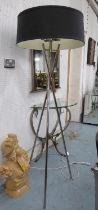 R V ASTLEY ARLO FLOOR LAMP, 168cm H. (slight faults)