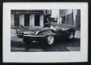 AFTER BEN DUNBAR-BRUNTON, Steve McQueen in Jaguar XKSS.