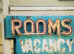 ROBERT CADLOFF 'Rooms', giclee on canvas, 60cm x 80cm, labels verso.