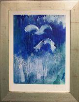 DAVID SCHLESINGER (Contemporary American) 'Birds in Flight', giclée print, artist's proof, run 1/25,