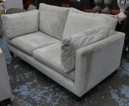 GALLERY INTERIORS MURANO SOFA, 180cm W, Designers Guild upholstery.