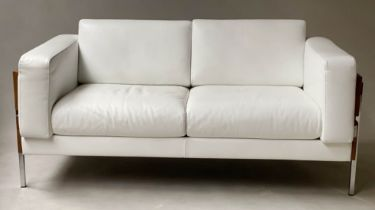FORUM SOFAS, a pair, 152cm W, Habitat by Robin Day (for Mille. Tom Dixon), early 21st century, in