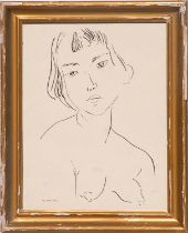 HENRI MATISSE 'Rare Nude', 1933, engraving on watermarked Ingres laid paper, signed in the plate