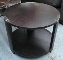 OCASSIONAL TABLE, 45.5cm x 60cm Diam, Art Deco style.