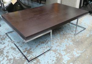 LOW TABLE, 83cm x 124cm x 36cm, contemporary design.