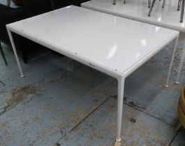 AFTER RICHARD SCHULTZ 1966 STYLE DINING TABLE, 152cm x 96cm x 67.