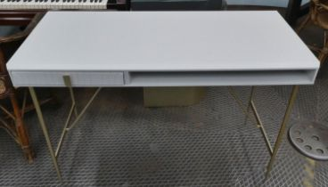 WRITING DESK, 120cm x 55.5cm x 77cm, contemporary design.